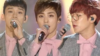 bof exo cbx ��������� for you ������ ������ ������������ ��� ost ������������ inkigayo 20161030