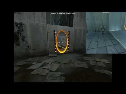 jugando a portal 2 con trucos pero yo les digo comandos Bv