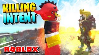 ROBLOX SUPER POWER TRAINING SIMULATOR [Psychic]: HOW TO USE KILLING INTENT!
