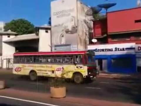 Peliyagoda upto Narahenpita Colombo 05 Bus routes right side 20161013