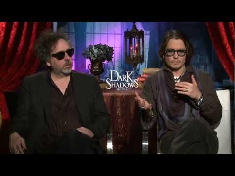 Johnny Depp & Tim Burton 'Dark Shadows' Interview