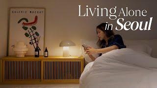 eng/ 자취 브이로그 ⏤ 대청소하고 침실 인테리어 하…