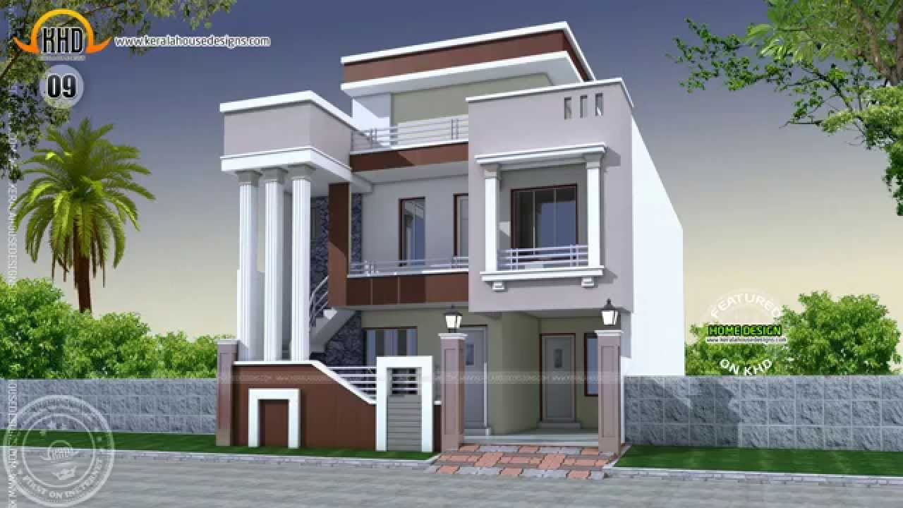 House designs of december 2014 youtube for Cute house design