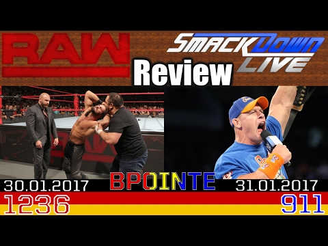 Post RR 2017! - WWE Raw & SmackDown Live Review - 30.01/31.01.2017 - Podcast #103 (Deutsch/German)