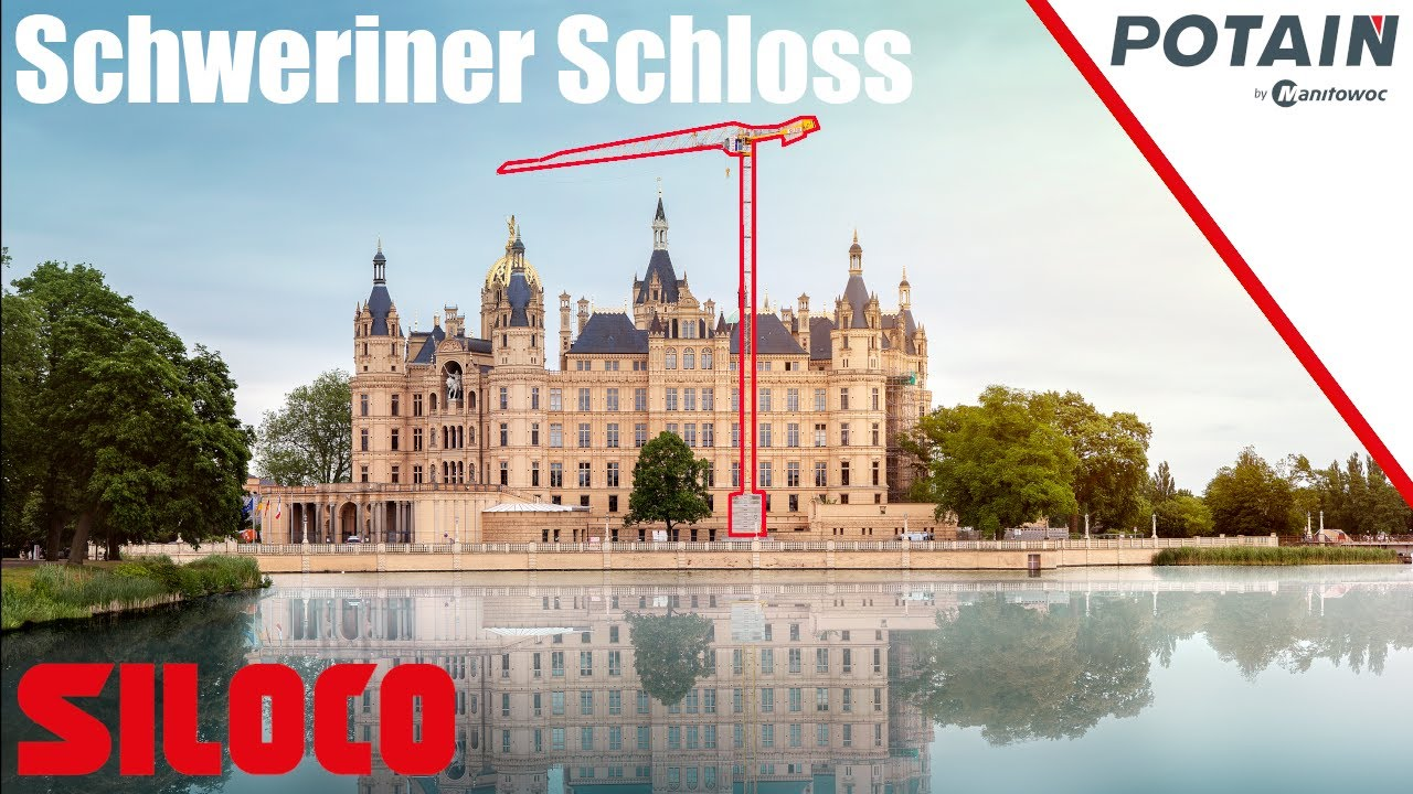 Youtube Video: Siloco Kranaufbau Schwerin