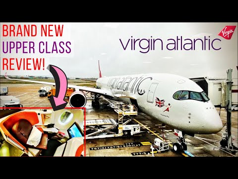 Virgin Atlantic A350-1000 New UPPER CLASS Review: London To New York!