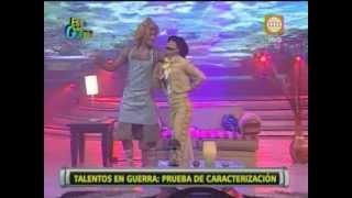 Esto es Guerra: Talentos en Guerra: Guty y Melissa son Rocío Dúrcal y Juan Gabriel - 10/09/2013