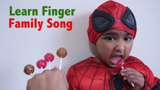 Kids Learn Finger Family Song Funny Baby | Beautiful Ishfi