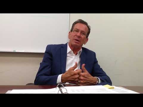 Gov. Dannel Malloy talks about 2018 election