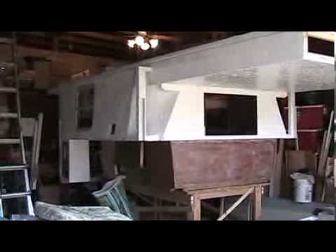 truck camper pop up building 2014 part 14 youtube. Black Bedroom Furniture Sets. Home Design Ideas