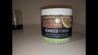 How I get rid of my cellulite! (Lalune Natural Seaweed Powder Review & Demo)