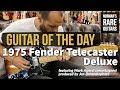 Guitar of the Day: 1975 Fender Telecaster Deluxe Sunburst | Norman's Rare Guitars