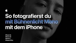 So fotografierst du mit Bühnenlicht Mono mit dem iPhone