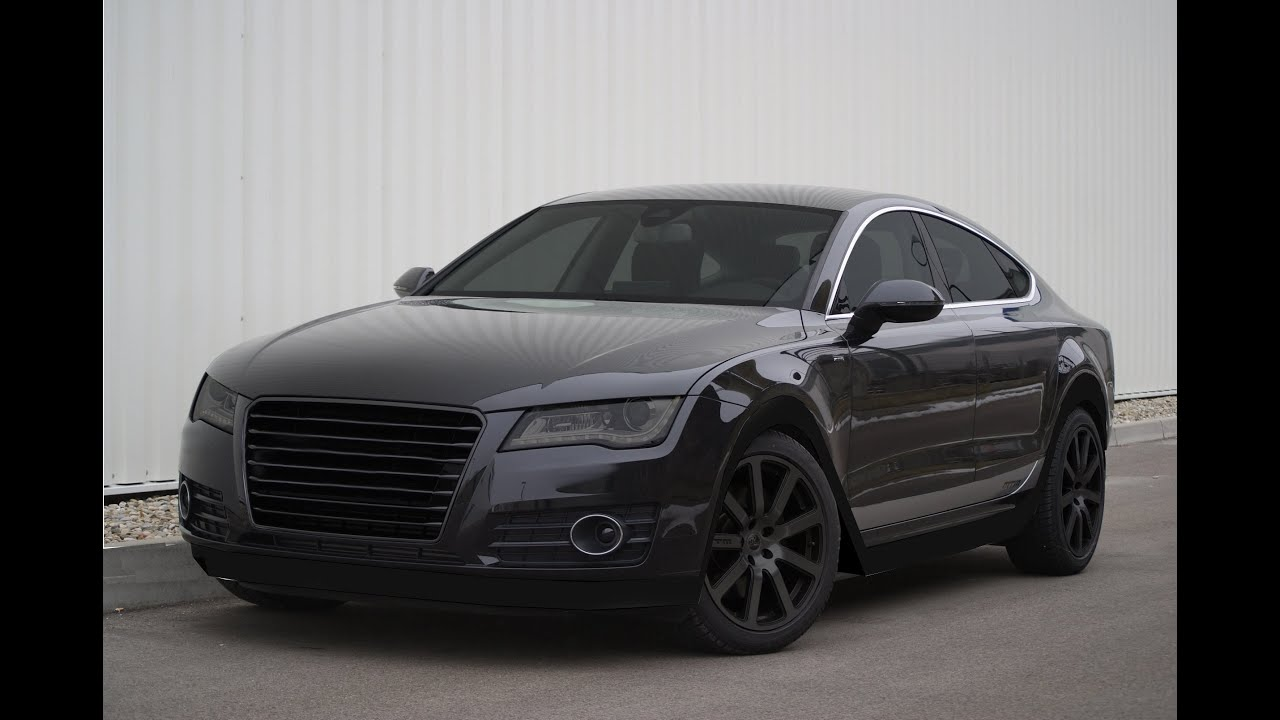 GIMP TUNING #2 | Audi A7 Black || DJcLight - YouTube