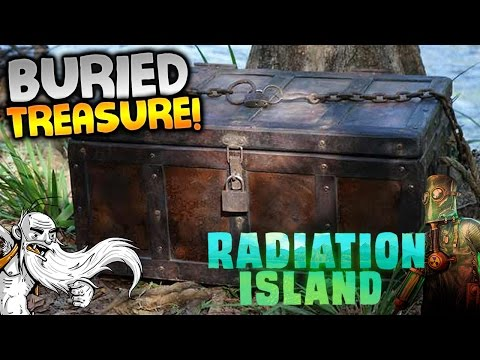 "Radiation Island Gameplay - ""BURIED PIRATE TREASURE!!!"" Walkthrough Let's Play"