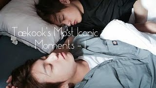Taekook's Most Iconic Moments - 1