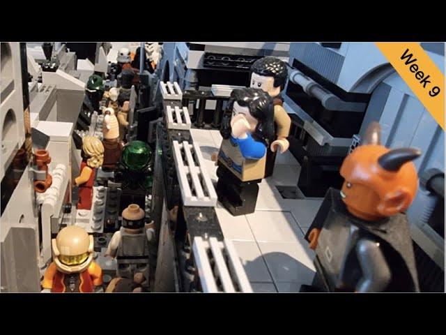 Lego Star Wars Ring of Kafrene Moc | Folge 9 | Letztes Update vorm FINALE | Brickstory Moc Contest