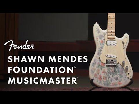 Shawn Mendes Foundation Musicmaster | Artist Signature Series | Fender