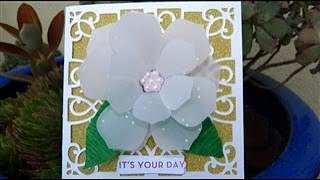 Lovey flower card   Week 11