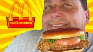 McDonald's®| Buttermilk Crispy Chicken Sandwich REVIEW!
