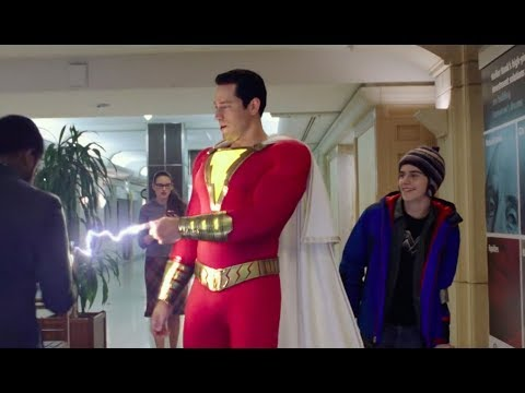 'SHAZAM!'    2019  Zachary Levi, Asher Angel