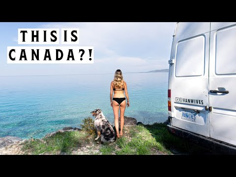 TROPICAL PARADISE IN CANADA? | Van Life | A Day In The Life