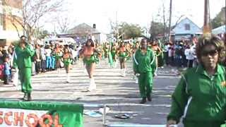 LHS Mighty Marching Rattlers 2011 Mardi Gras - \