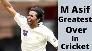 Mohammad Asif Greatest Over of His Career - Magical Seam Bowling