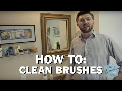 How to Clean your Wet Shave Badger Boar Brush