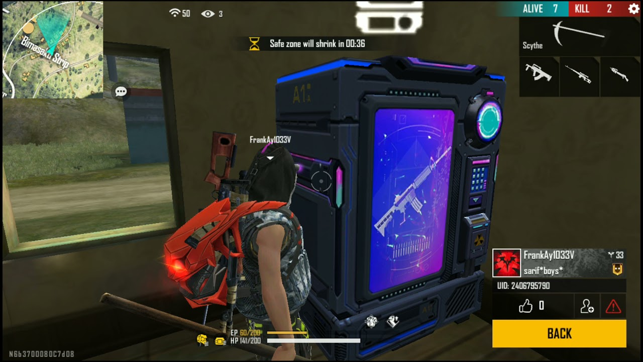 Classic Free fire - Awesome Gameplay   Must watch #echosmart