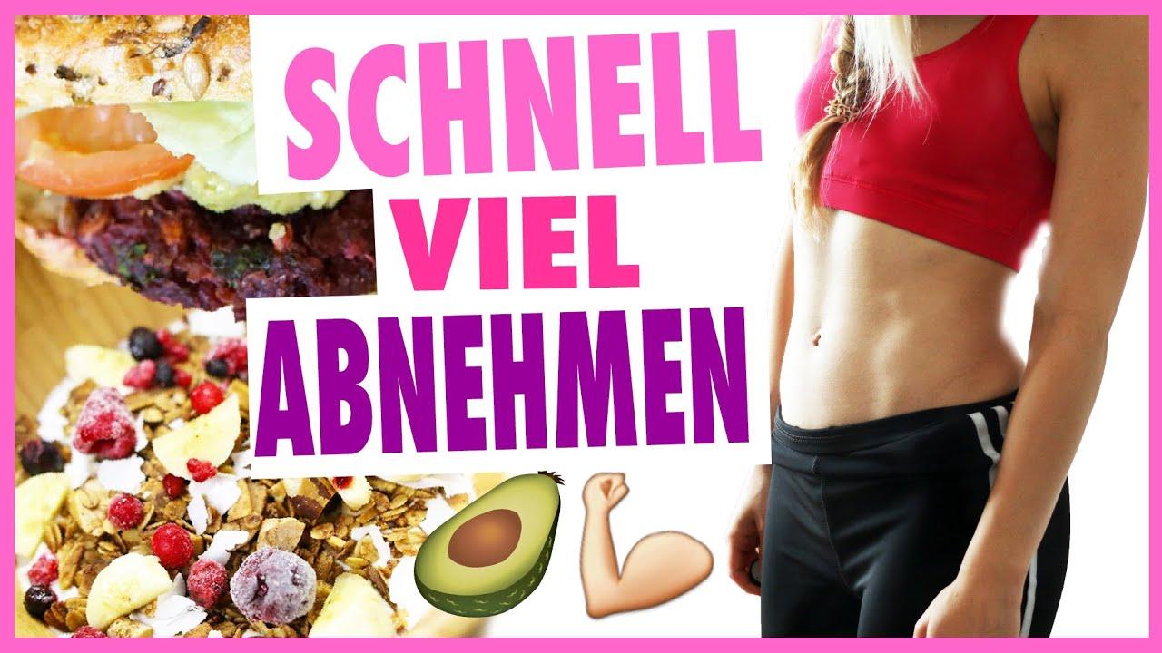 richtige ernährung sport abnehmen