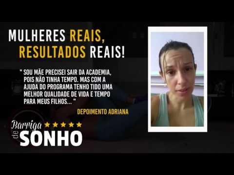Sem tempo para a Academia? Depoimento Adriana | Barriga de Sonho - Raquel Quartiero