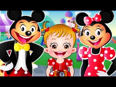 Baby Hazel in Disneyland | Fun Game Videos By Baby Hazel Games