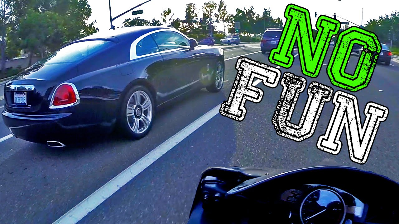 NO FUN - ROLLS ROYCE Wraith, BENTLEY & MASERATI!