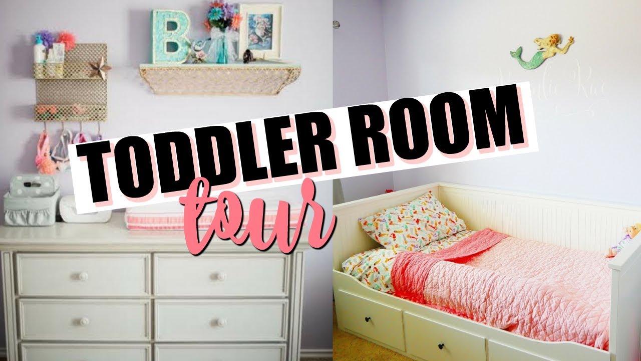 TODDLER ROOM TOUR 2019 | Toddler Girl Room Decor