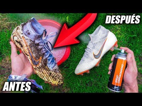 Cómo Limpiar Botas de Fútbol (100% REAL) – LIFE HACK SOCCER