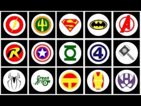 Superhero Symbols Puzzle Enter And Save Humanity Lol Youtube