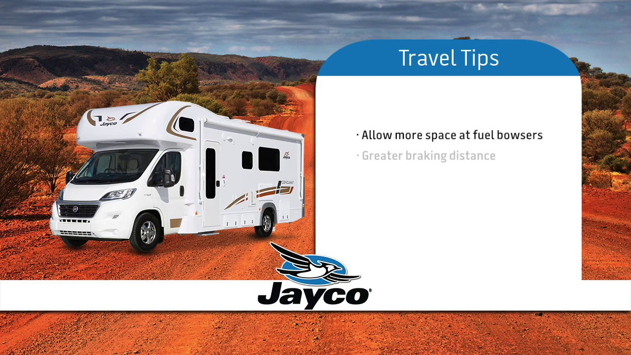 2016 Jayco Conquest Motorhome Instructional Video on