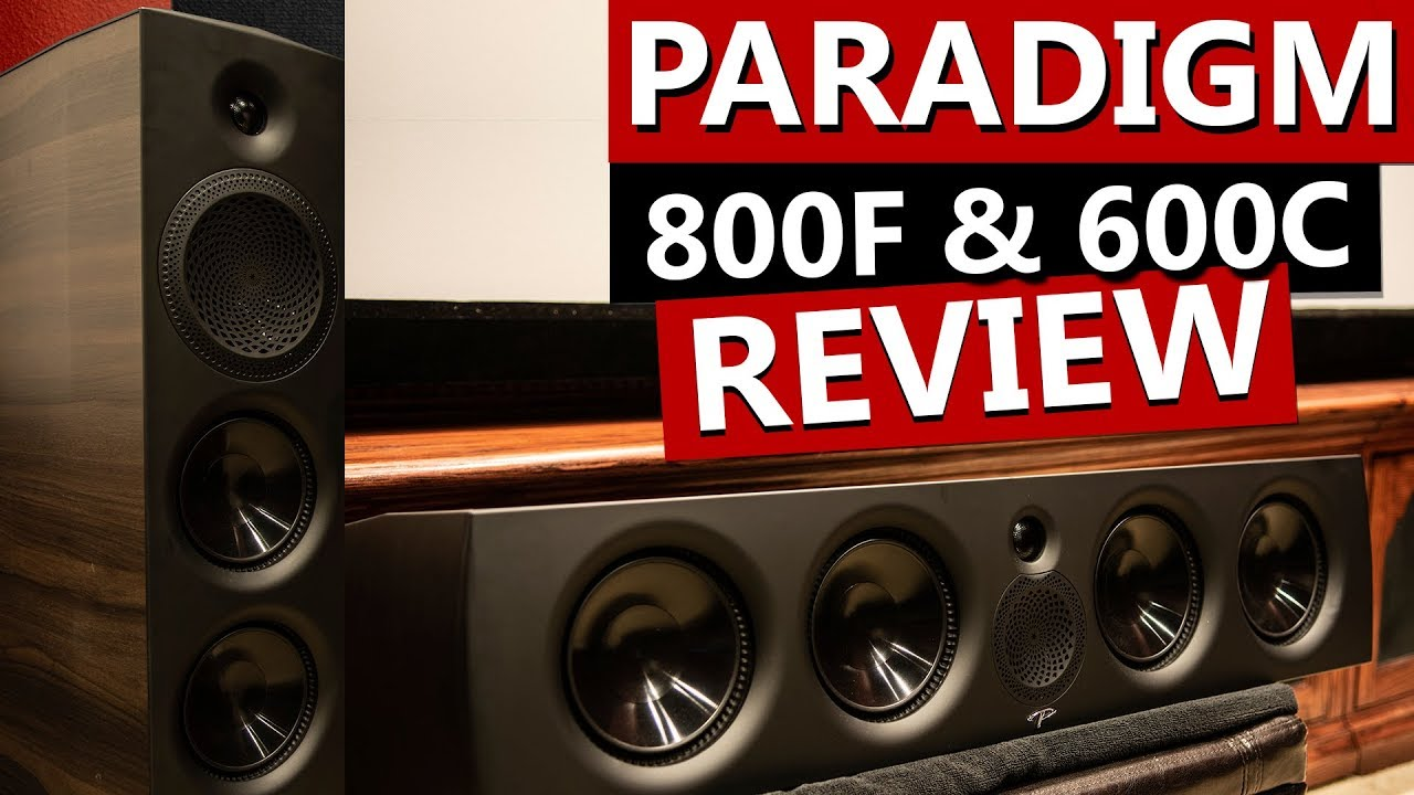 Paradigm Premier 800F and 600C Review