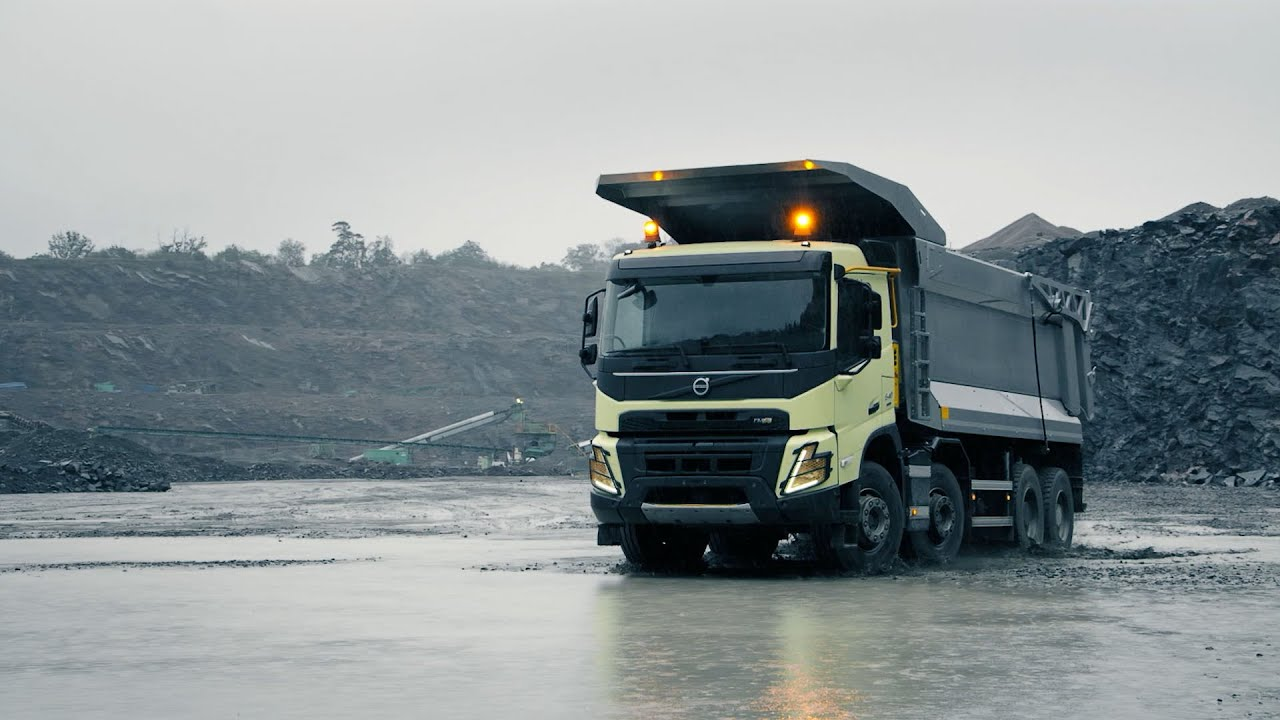 Volvo Trucks The New Volvo Fmx Push The Limits Of Productivity Youtube