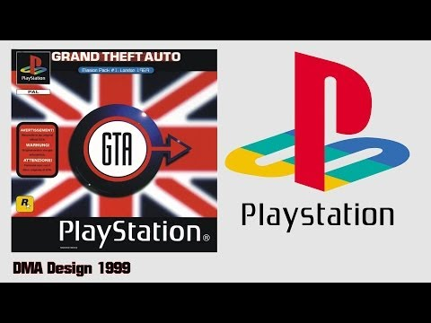 Grand Theft Auto London (PS1)(2000) Gameplay