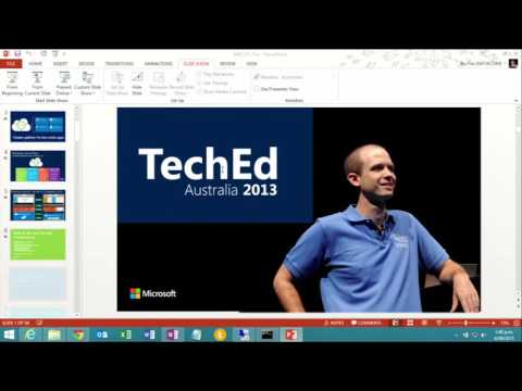 TechEd Australia 2013 Building Cloud Services with the Windows Azure Pack