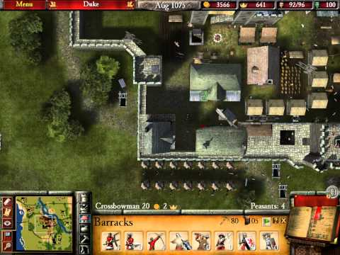 Let's Play Stronghold 2 #42 The End Of Duke! (Croaky Voice)!  