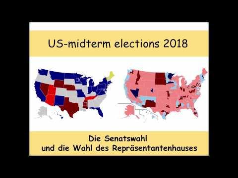 US-Kongresswahlen 2018: Das Ergebnis Stand 10:48 Uhr (Senat | Repräsentantenhaus | midterms)