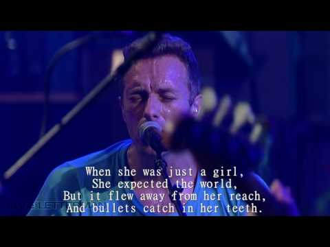 Coldplay - Paradise | Live | LYRICS