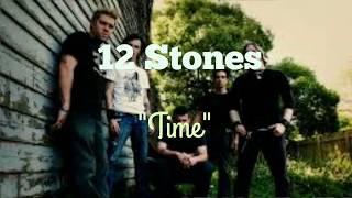 12 Stones - Time [Lyric Video]