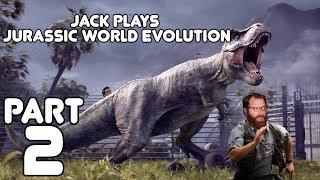 An Escape! Jack plays Jurassic World Evolution Part 2