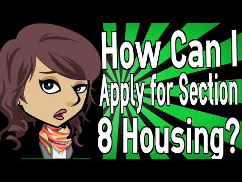 how can i apply for section 8 housing 87883