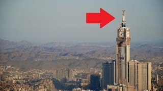 Wow Diduga ada Simbol-Iblis pada Menara Abraj Albait di Mekah !!!