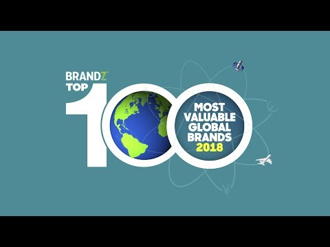 BrandZ Top100 Most Valuable Global Brands 2018 | Countdown